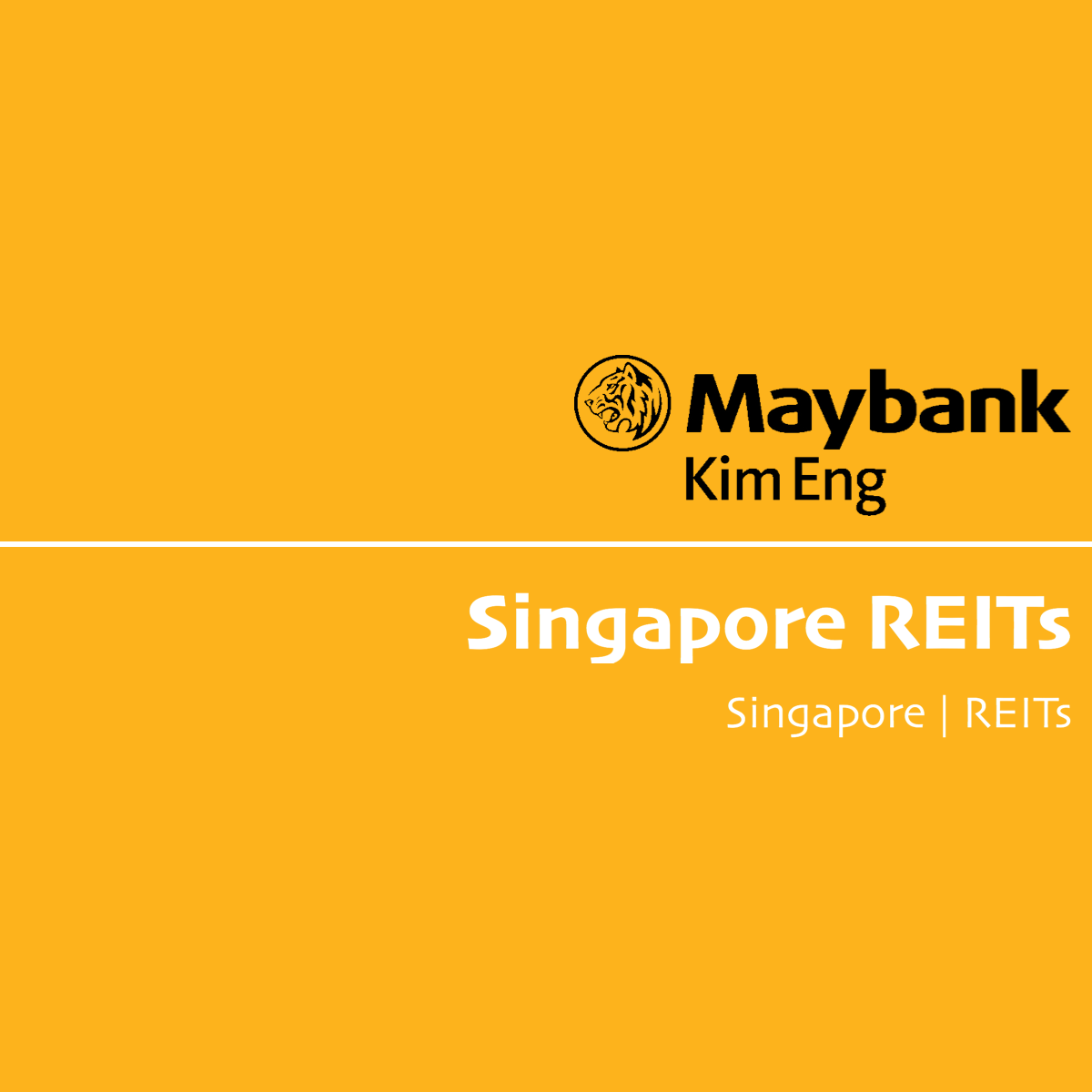 Singapore REITs - Maybank Kim Eng Research  | SGinvestors.io