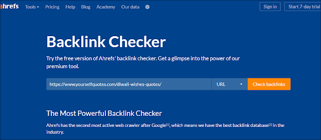 ahrefs,event blogging,link building,free backlink finder