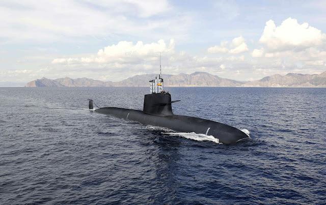 NAVANTIA termina la ampliación de casco del submarino S-80