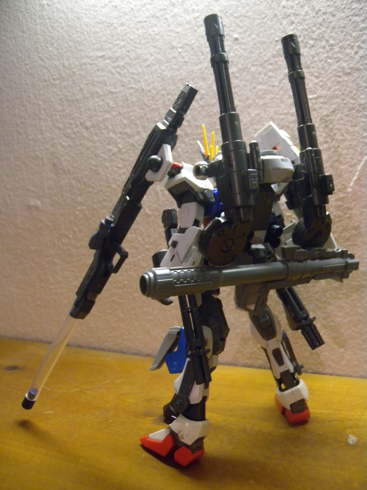 lagrange=point: 1:100 MG Custom Strike Gundam - Cherudim ...