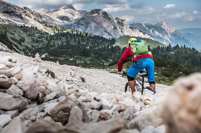 Enduro MTB Tour Dolomiten Sas dla Para