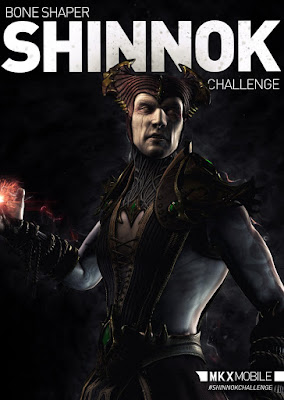 Shinnok Forgiaossa MKX mobile