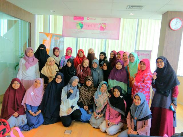 Meet Up Blogger Muslimah Bersama Teh Khadija (Peggy Melati Sukma)
