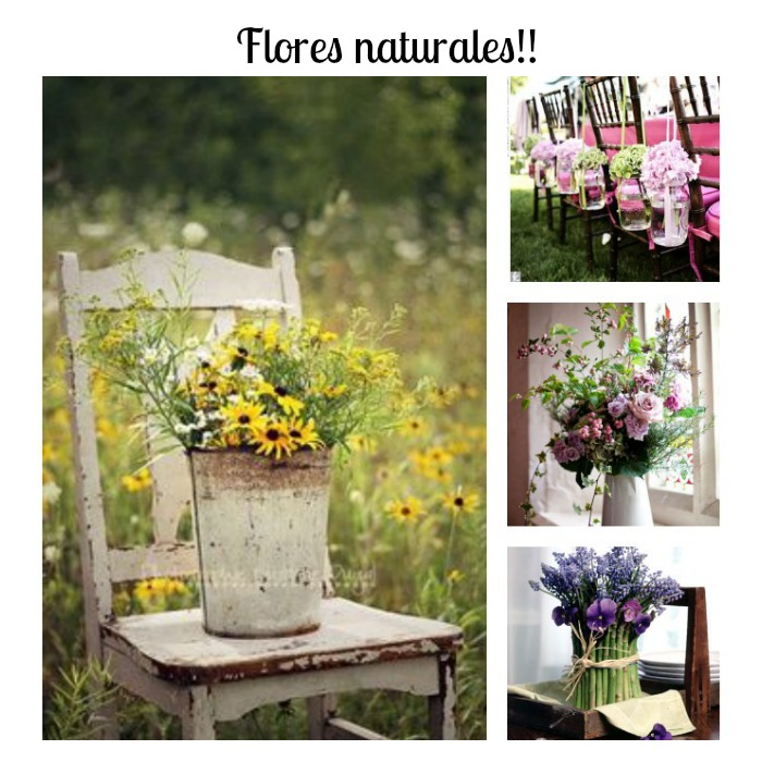 trucos para decorar tu hogar con flores naturales lowcost