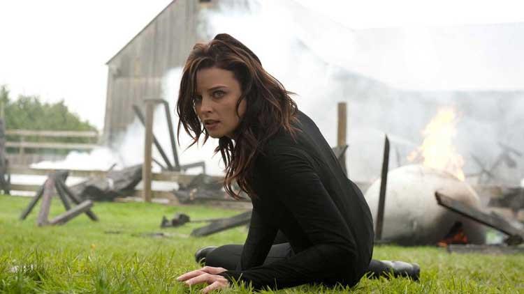 Rachel Nichols as Kiera Cameron in Continuum