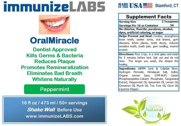 Product review immunizelabs oralmiracle coupon code the first time that i used the mouthwash i was pleasantly surprised i had previously tried oil pulling and i expected this to be very similar fandeluxe Gallery