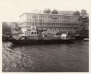 Llegada de los indígenas a Alcatraz - 20 de noviembre 1969