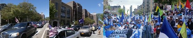 PLD y PRM cierran campañas en NY con marcha en el Alto Manhattan y caravana en El Bronx