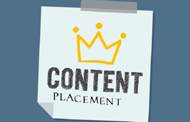 Cara Meningkatkan Rating Blog dengan Content Placement