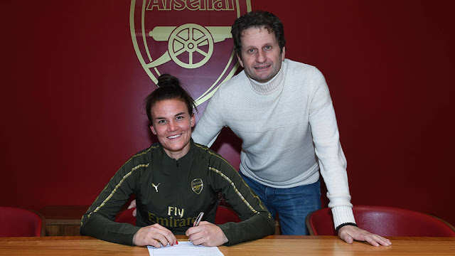 Arsenal Women Sign Katrine Veje From Montpellier