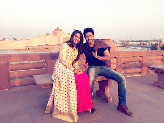 Chakor and Sooraj of Udann cast have a good time in Lucknow during promotions