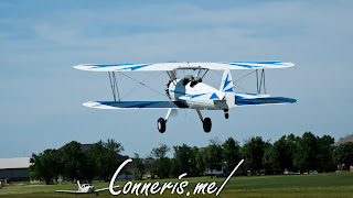 N3256A 1943 BOEING A75N1%2528PT17%2529 Flyby 1