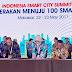 Bupati Mimika Hadiri  Lounching Smart City