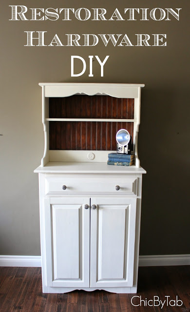 Hutch Makeover DIY