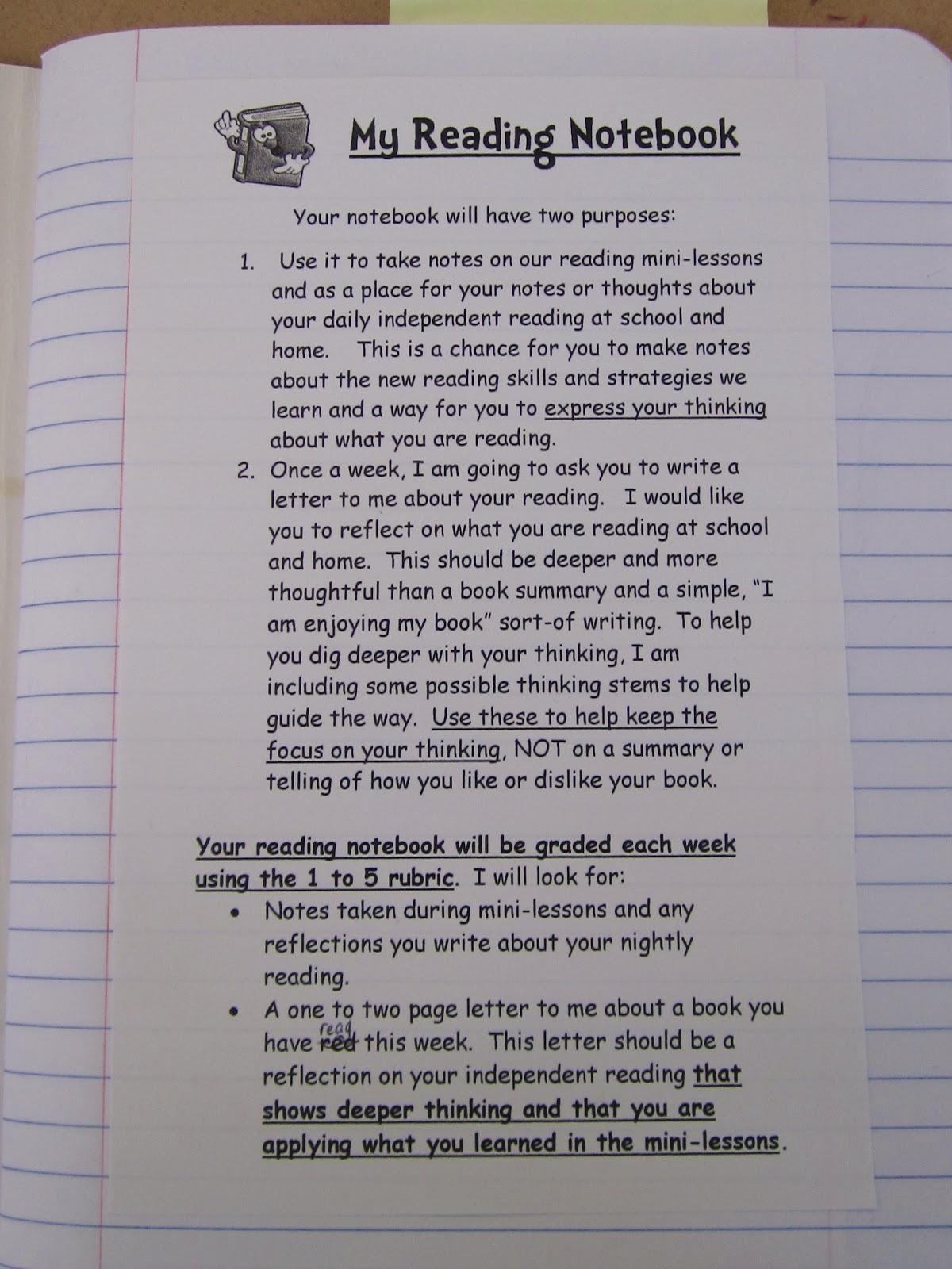 Teaching My Friends My Reading Notebooks