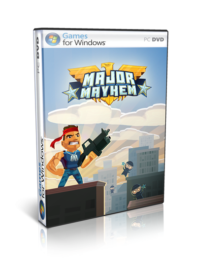 Major Mayhem PC Full Ingles
