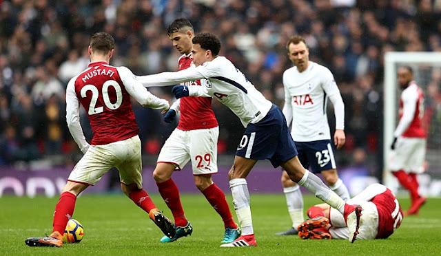 Prediksi Bola Tottenham Hotspur vs Arsenal Liga Inggris