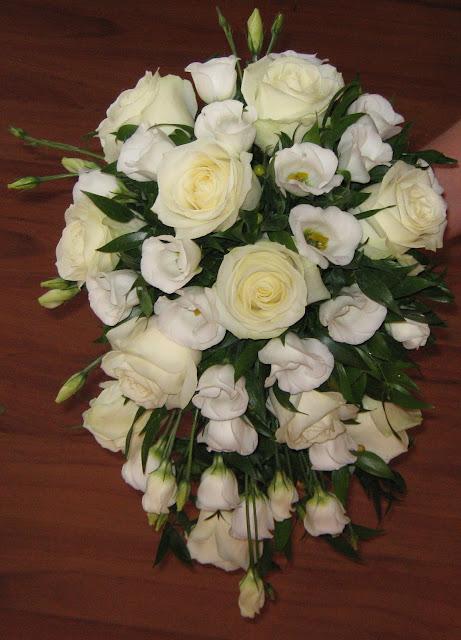 lisiantus trandafiri buchet mireasa