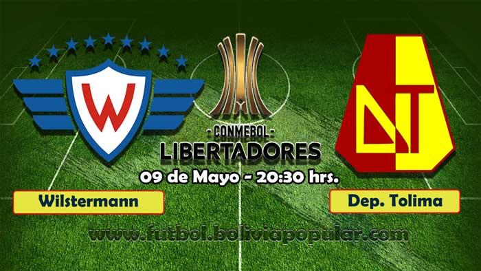 【En Vivo】Wilstermann vs. Tolima - Copa Libertadores 2019