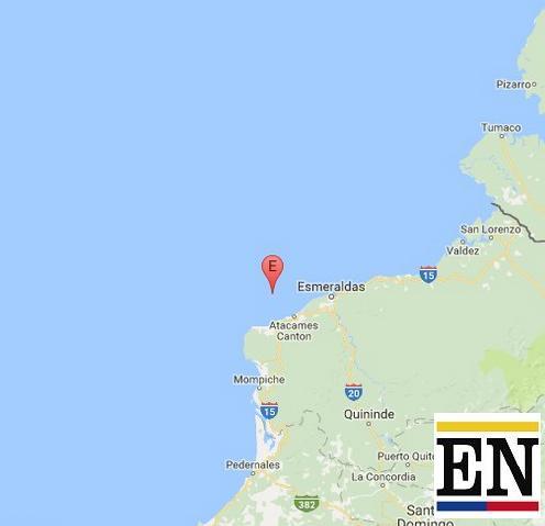 sismo en Atacames de hoy