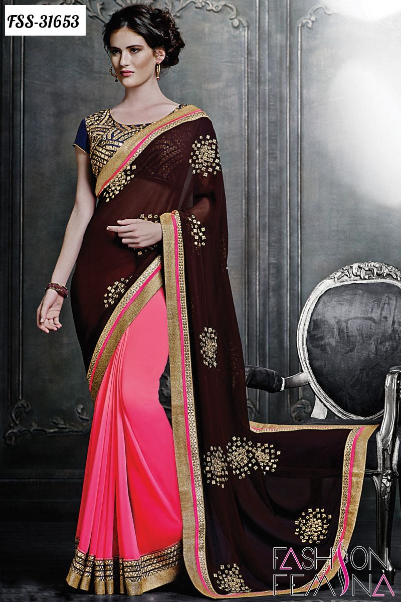 Trendy Indian Wedding Party Wear Ladies Designer Anarkali: Fashion Femina Salwar Kameez : Most Trendy Indian