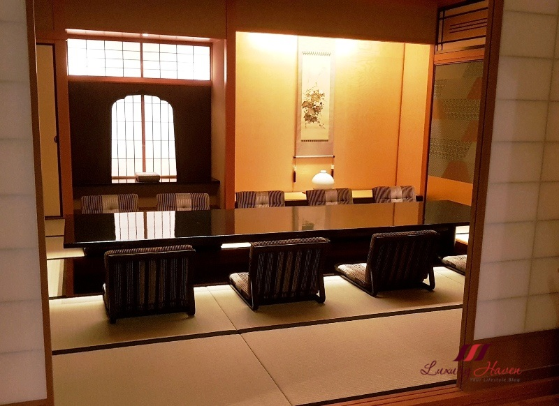keio plaza hotel soujuan kaiseki private rooms