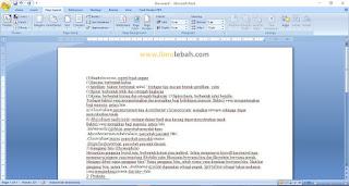 Cara Merubah File Hasil Scan Menjadi file Text