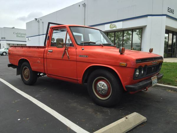 Unrestored, 1972 Toyota Hilux