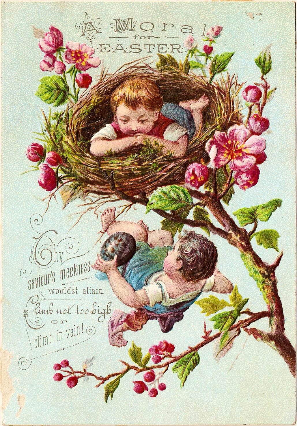vintage spring clip art - photo #47