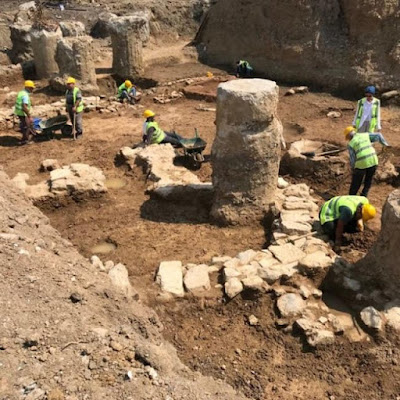Βυζαντινά κατάλοιπα βρίσκονται κατά την αποκατάσταση ιστορικού σταθμού της Κωνσταντινούπολης