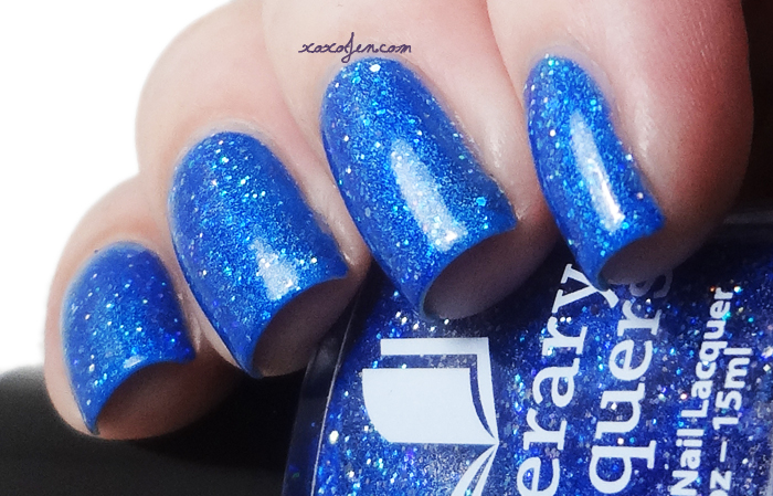 xoxoJen's swatch of Literary Lacquers Blue Lullaby
