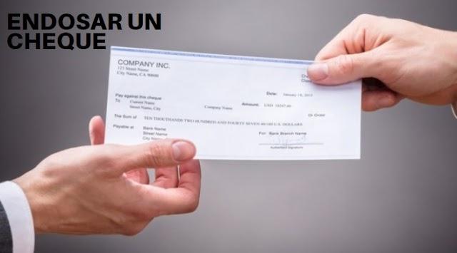 Como endosar un cheque 🥇 Peru , ejemplo