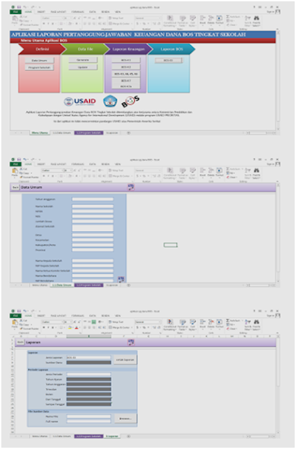 Aplikasi pengolahan Dana BOS 2017 Format Excel Terbaru - Galeri Guru