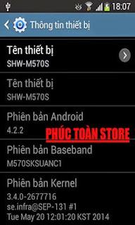 Tiếng Việt Samsung M570S alt