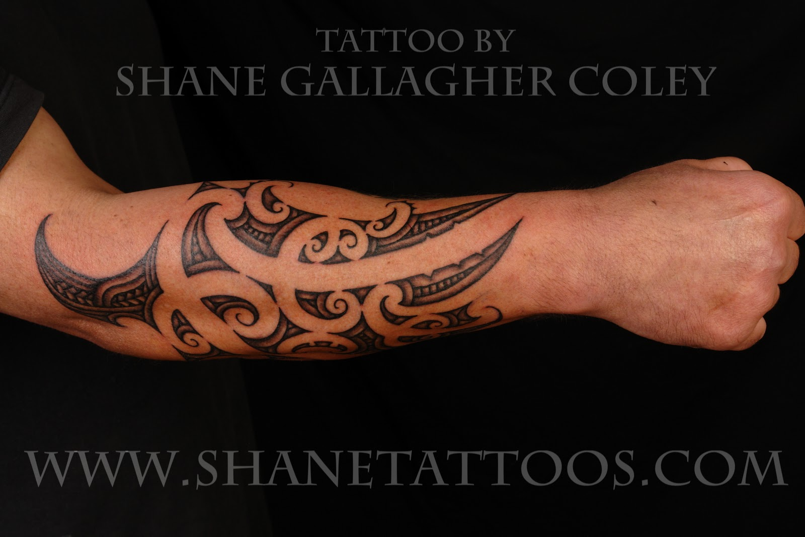 Maori Lower Arm Band Tattoo: SHANE TATTOOS: Maori Forearm Tattoo