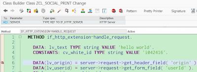 ABAP Java Servlet, SAP ABAP Tutorials and Materials, SAP ABAP Guide