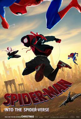 Poster de Spider-man Into the Spider Verse
