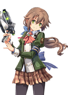 Towa Herschel a Chairman of the student body in game Trial of the Cold Steel series