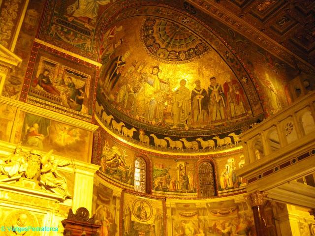 Santa Maria in Trastevere, Roma, Art romànic, Itàlia