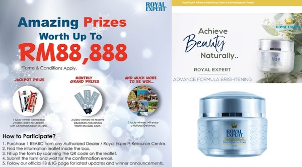 Win Prizes by Staying Beautiful and Glowing skin with Royal Expert!