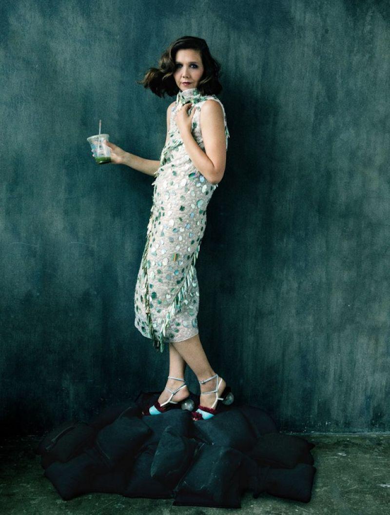 Photoshoot of Maggie Gyllenhaal for As If Magazine, November 2017