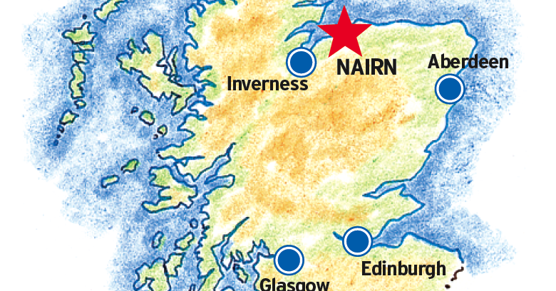 Nairn Scotland Map.Travel And The Art Of Writing Scotland 6 Nairn