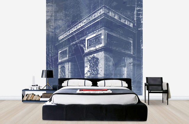 Pariisi Tapetti Paris Triumphal Arch