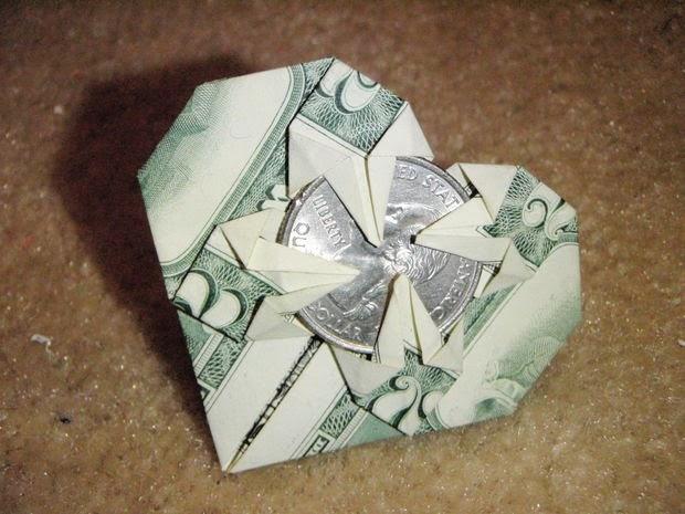 Toothfairy Origami Money Heart | Munchkins and Mayhem - photo#8