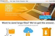DropSend: página web que permite enviar archivos pesados gratis por internet