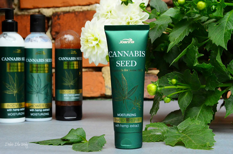 Joanna Botanicals for Home Spa Cannabis Seeds Nawilżający Krem do rąk z Ekstraktem z Konopi