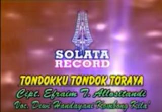 Lirik Lagu Tondokku Tondok Toraya