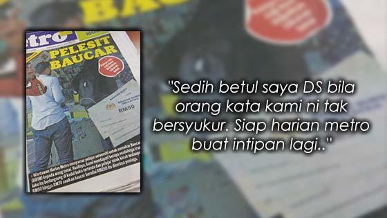 Luahan Mahasiswa Dituduh Tak Bersyukur Tukar Baucar Buku 1 Malaysia Dengan Tunai