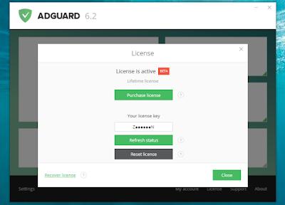 Screenshot Adguard Premium 6.2.437.2171 Full Version