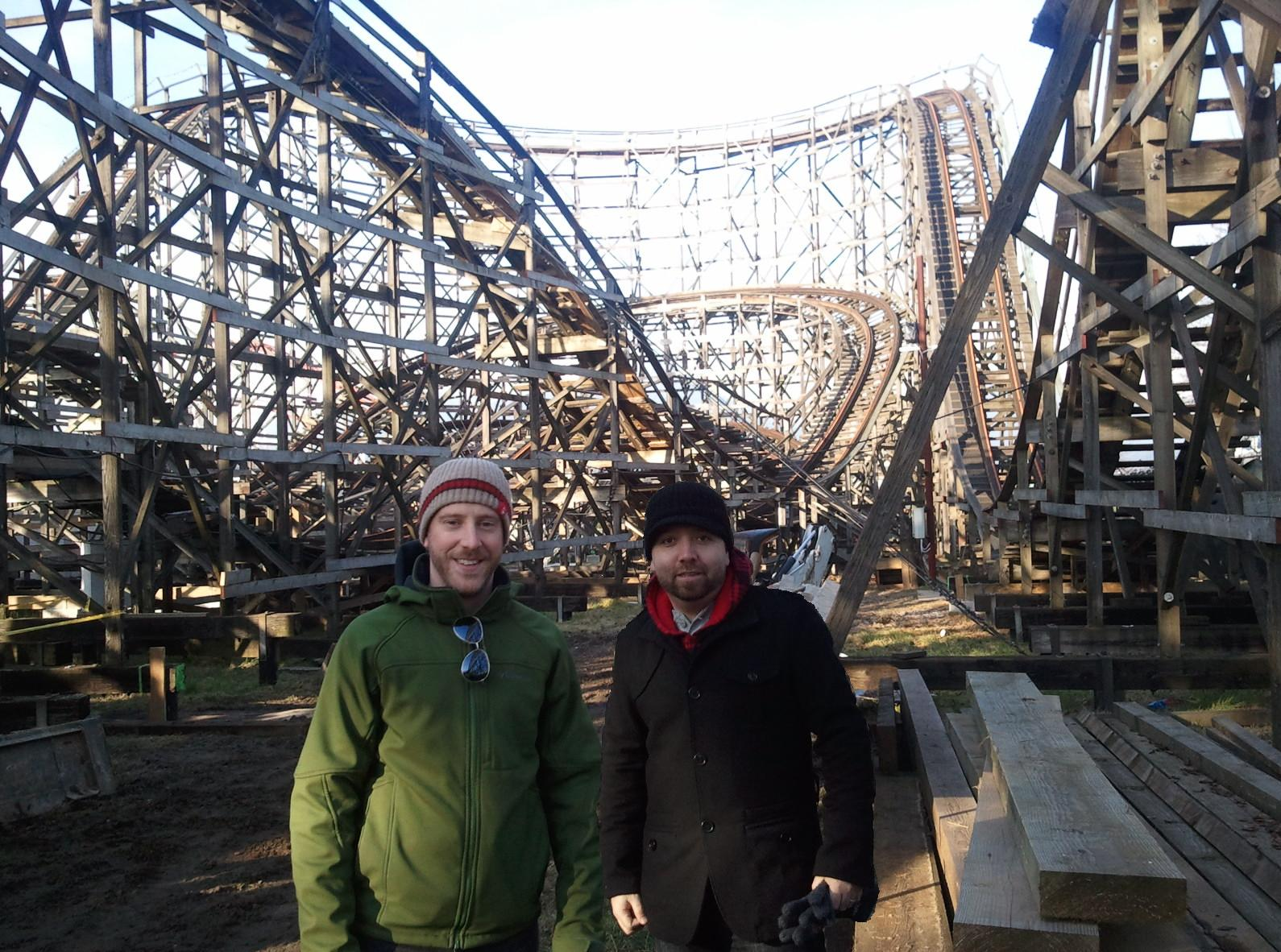 The Wooden Roller Coaster Beautiful Vancouver